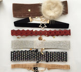 holiday Fur Choker