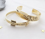Arrow Follow your Heart bangle