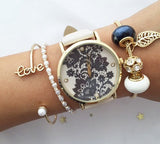 Luxury 4 charms bracelet