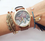 Delicate leaf bangle