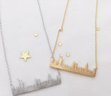 Romantic City Necklace (3 cities)