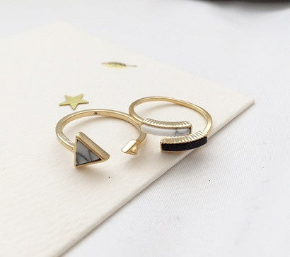 Chic Marble ring
