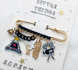 Fun Safety Pin (6 Styles)