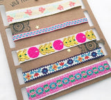 Summer Embroidery Choker set