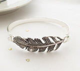 Antique feather bracelet