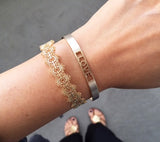 Lace on your Wrist bracelet