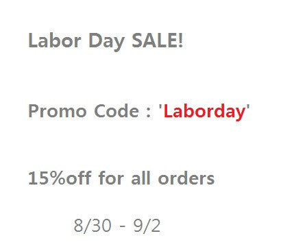 Laborday SALE!