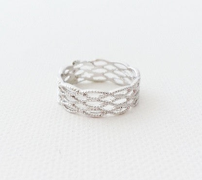 Lace ring (2colors)
