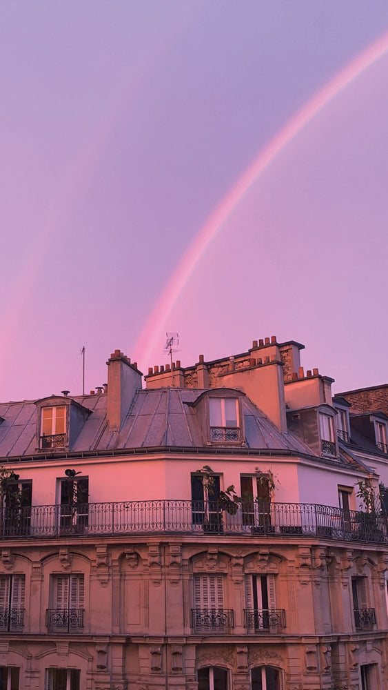 Arc-en-ciel à Paris