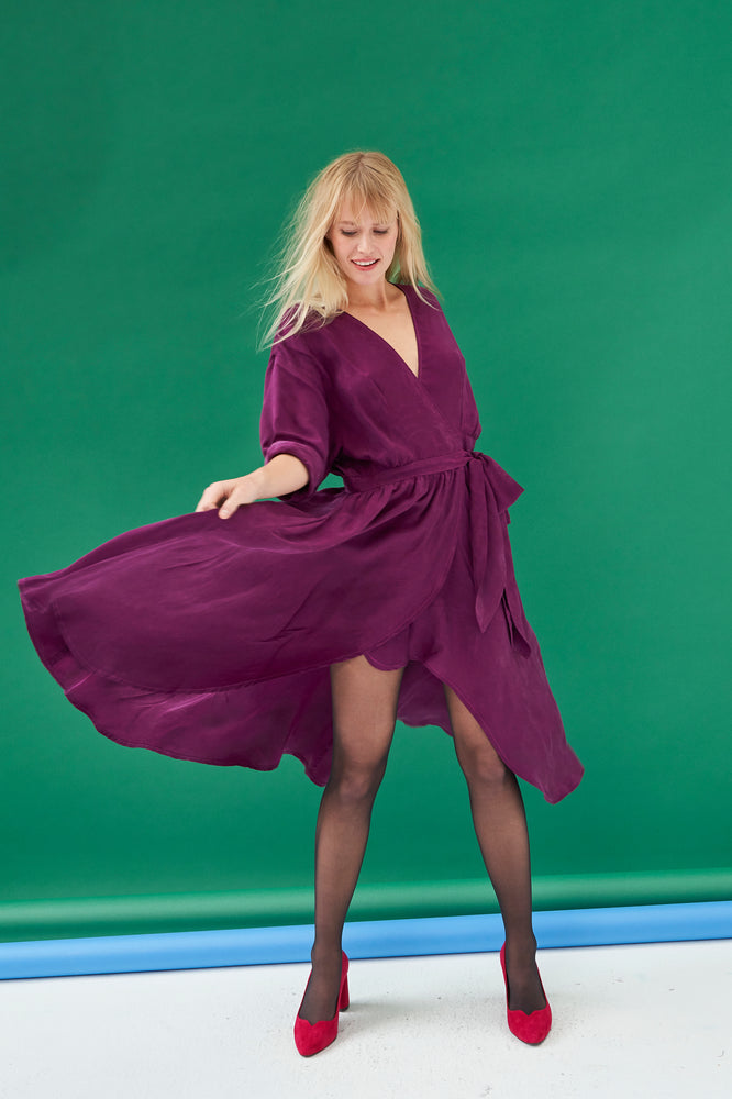 ROBE FRANKIE PURPLE
