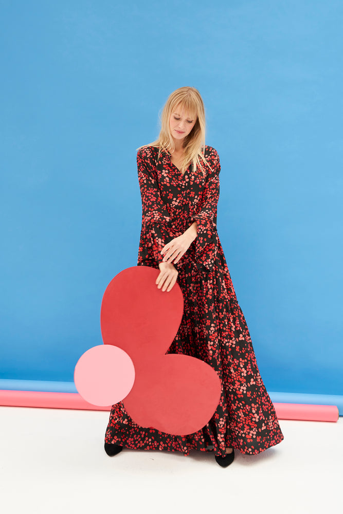 ROBE ERIN FLOWER TOUCH
