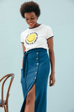 TSHIRT EVA SMILEY COTON BIO