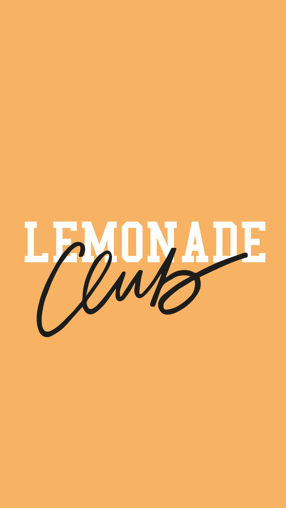 Lemonade Club Yellow
