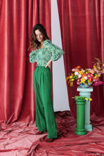 PANTALON HARYA SUPER GREEN