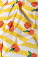 NEW- TISSU YELLOW MANDARINE