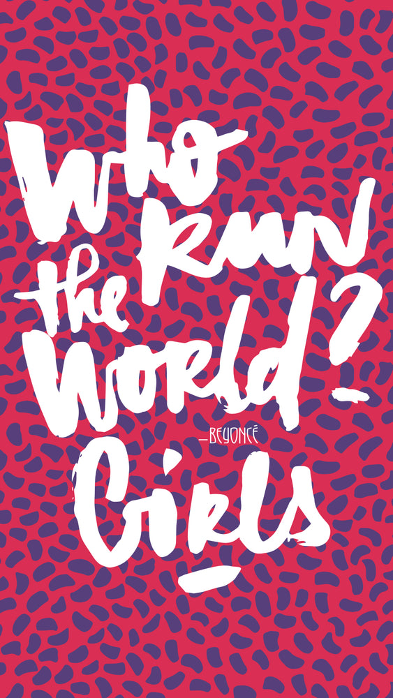 Who run the world - Mélanie de Bossoreille