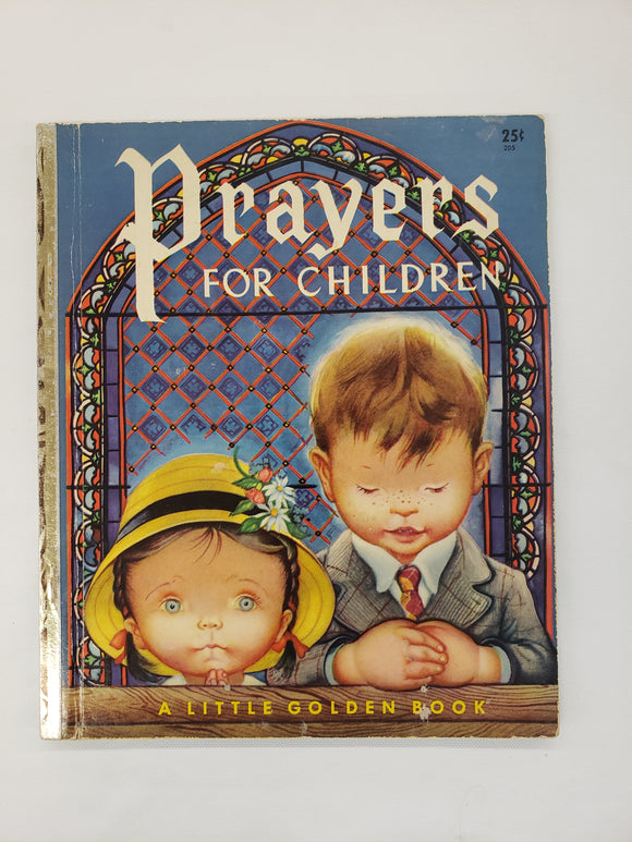 Vintage Children's Book Prayers For Children