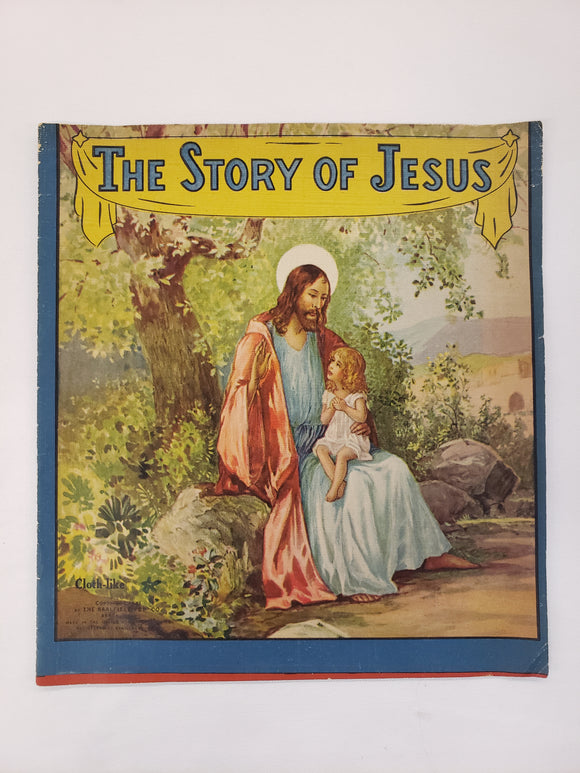 Vintage Children's Book The Story Of Jesus