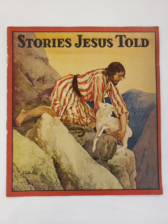 Vintage Children's Book Stories Jesus Told