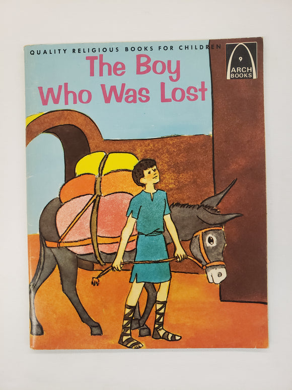 Vintage Children's Book The Boy Who Was Lost