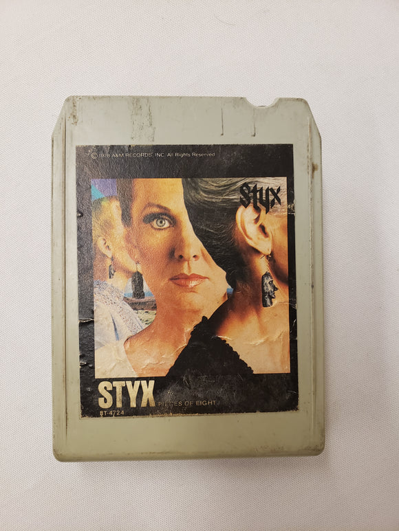 Styx Pieces of Eight 8 Track