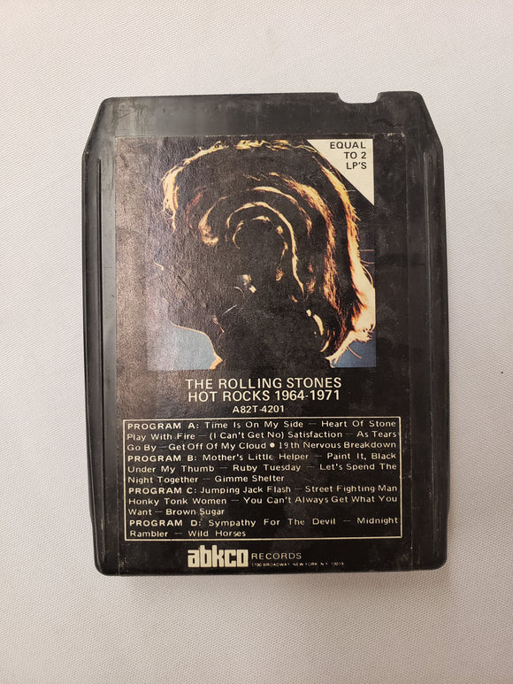 Rolling Stones Hot Rocks 1964-1971 8 Track