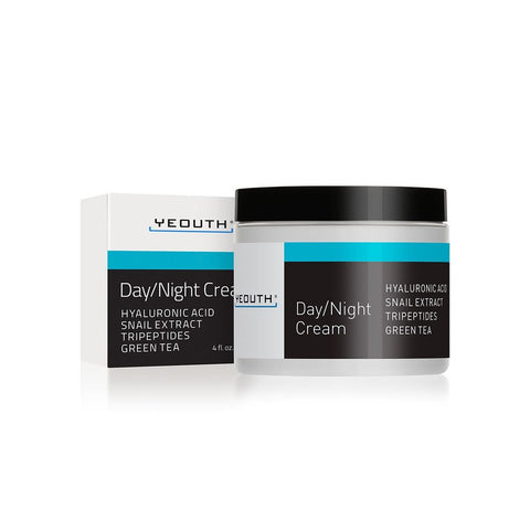 Day / Night Cream + Hyaluronic Acid, Snail Extract, Tripeptides