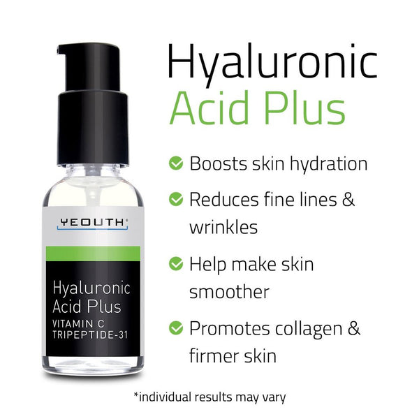 Hyaluronic Acid Plus with Vitamin C, Tripeptide 31