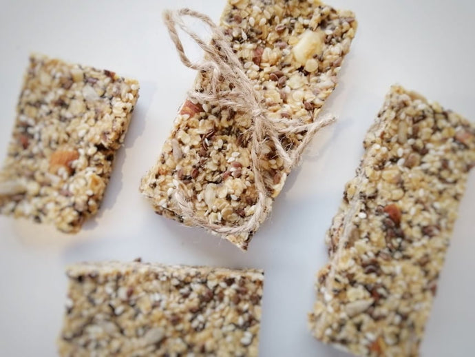 Easy Go-To Raw Granola Bars - RSF