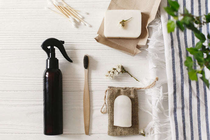 Five Bathroom Swaps to go Plastic Free this July