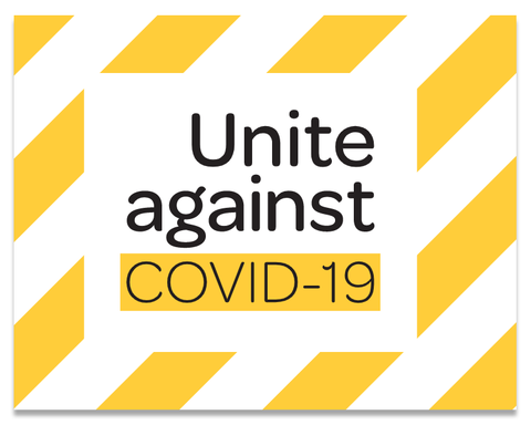Unite against covid-19 nz sign