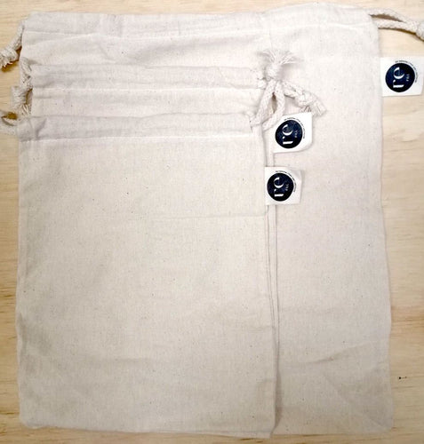 Reusable 100% Cotton Dried Goods Bags