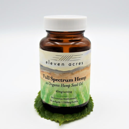 Full Spectrum Hemp SoftGels