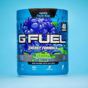 G FUEL Sour Blue Chug Rug