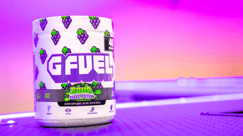 Image of G FUEL Sour Pixel Potion (Sour Grape)