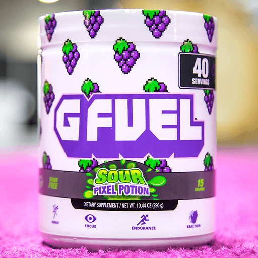 G FUEL Sour Pixel Potion (Sour Grape)