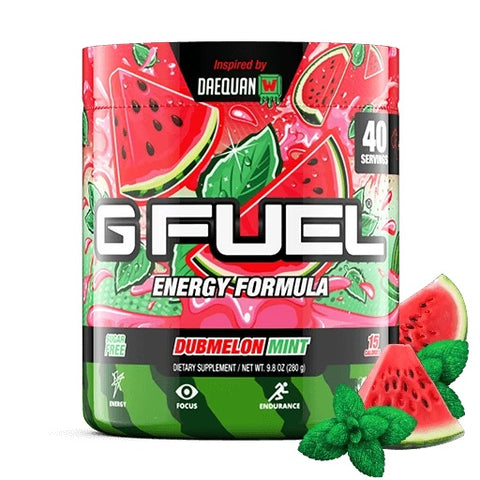 Image of G FUEL Dubmelon Mint