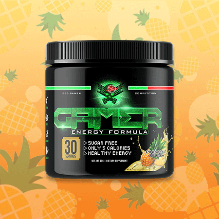Image of P2 Gamer Energy - Pineapple Splash