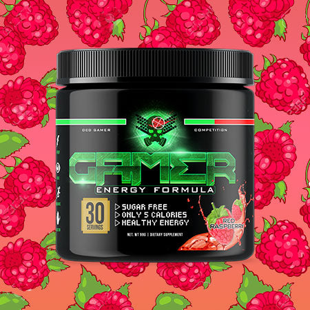 P2 Gamer Energy - Red Raspberry