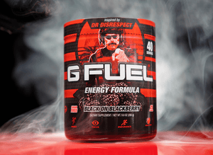 G FUEL Black on Blackberry