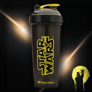 Star Wars - Star Wars Logo (Yellow on Black)