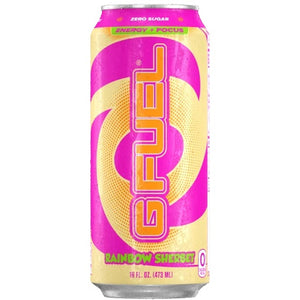 G FUEL ENERGY CAN - RAINBOW SHERBET