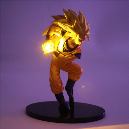 Goku Super Saiyan 3 LED EFFECT - kynit