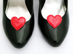 Queen of Hearts Shoe Clips Heart Clips 4 Shoes