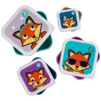 Fox nesting snack boxes