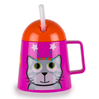 Toddler sippy cup with lid