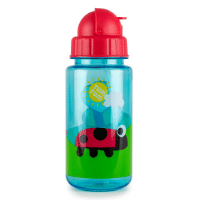 Lady bird flip top water bottle