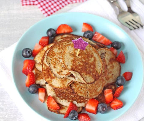 Two ingredient pancakes from My Fussy Eater