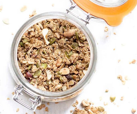 Sugar Free Granola from Healthy Little Foodies