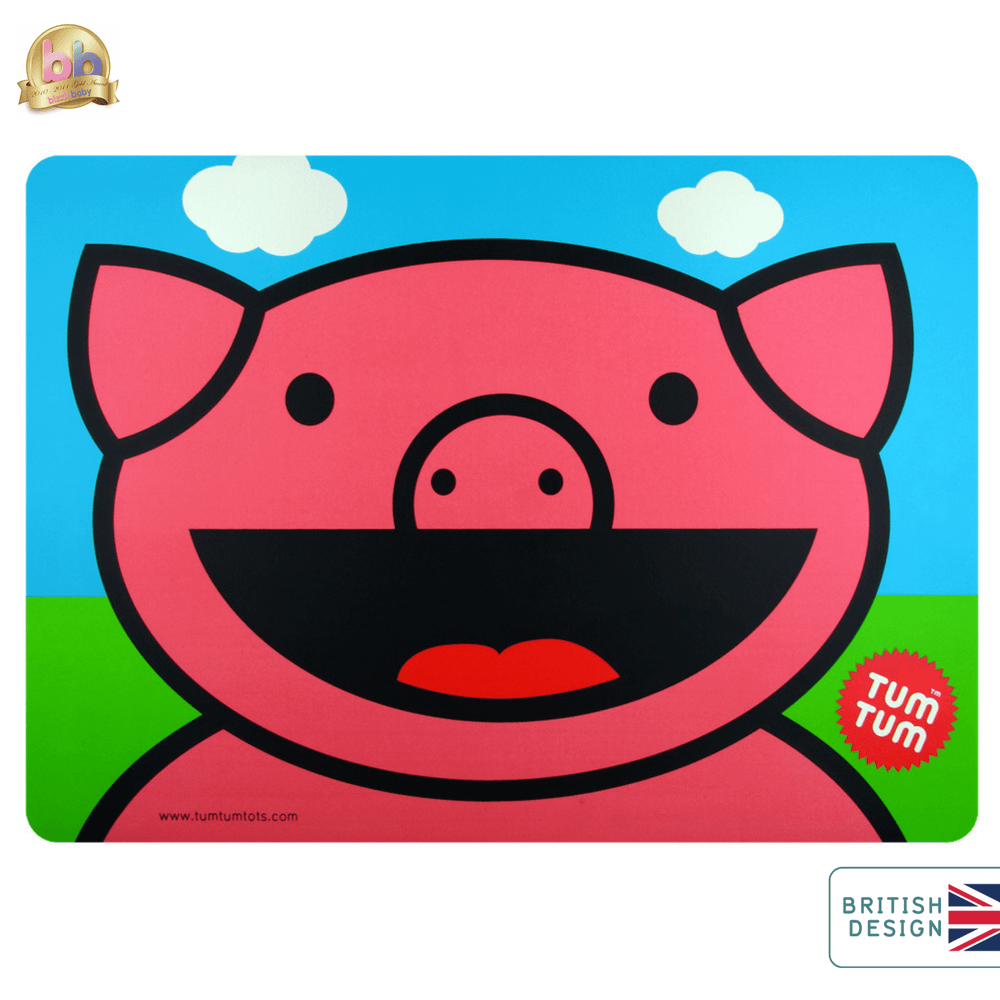 Kids placemat in pig design